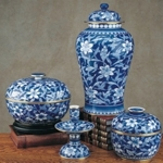 Blue and White Porcelains